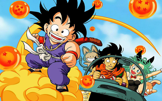 dragon ball adventure genre
