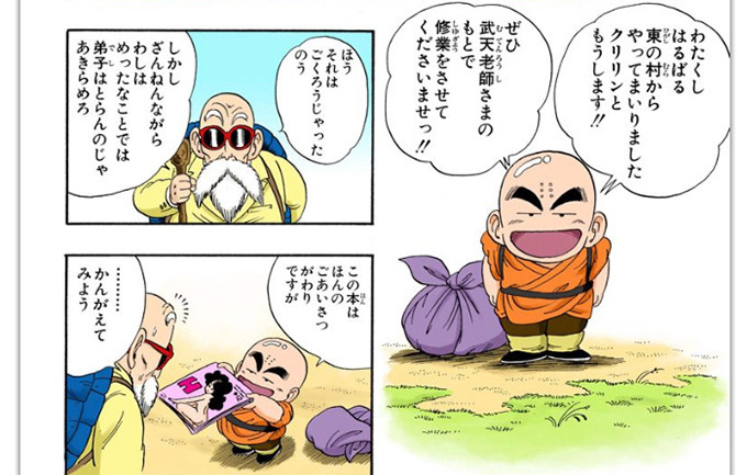 dragon ball krillin porn magazine
