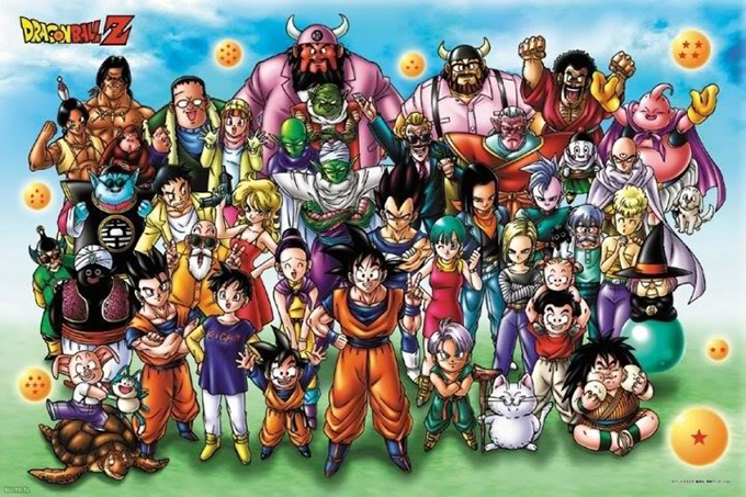 dragon ball z family