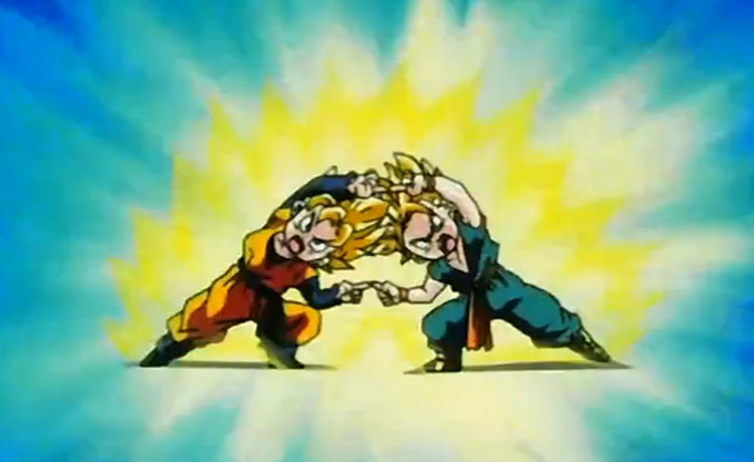 dragon ball z fusion dance