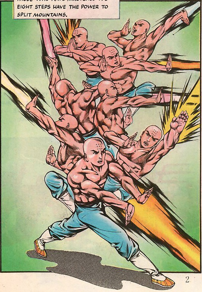 manhua shaolin monks