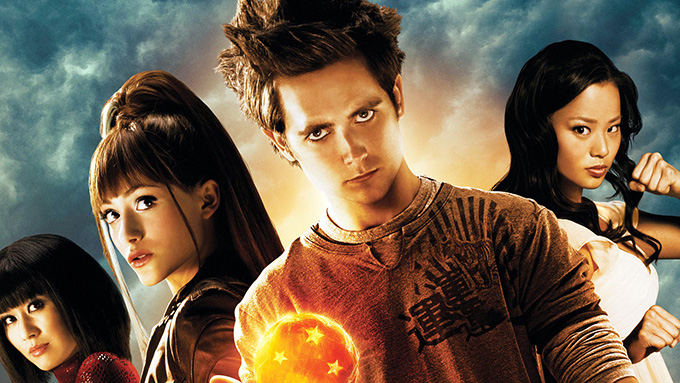 dragonball evolution poster
