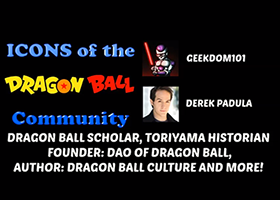 derek padula icon of dragon ball community