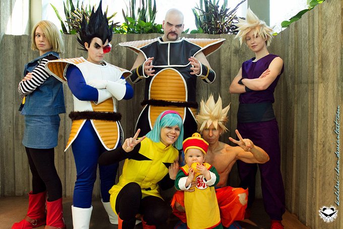 dragon ball z family cosplay
