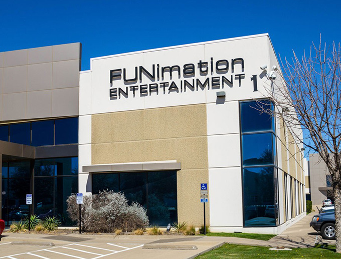 funimation headquarters dallas texas
