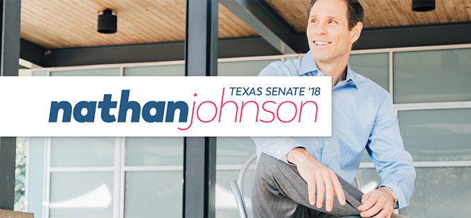 nathan johnson for texas senate