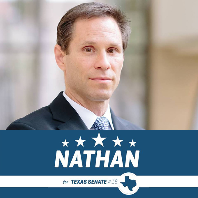 nathan johnson dallas texas senator