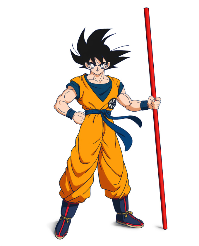 dragon ball super movie goku new design