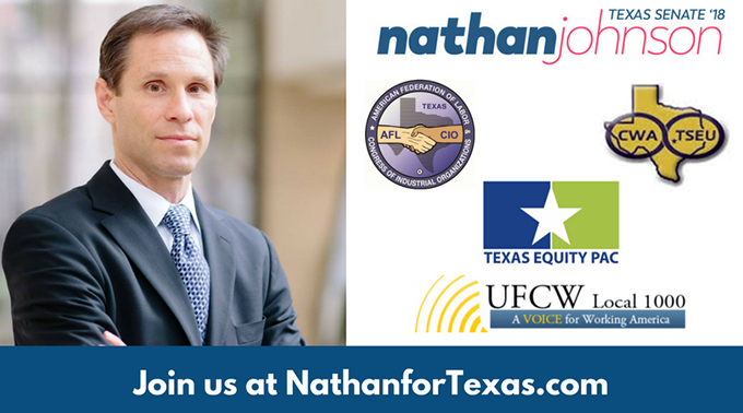 nathan johnson dragon ball senator wins texas primary