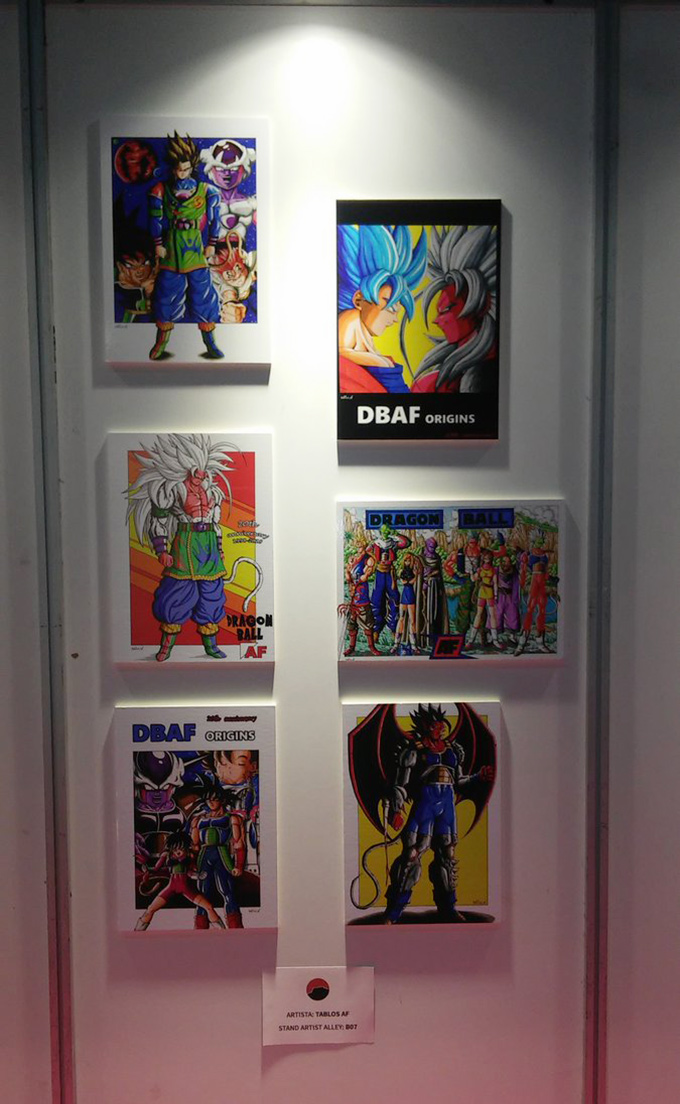 dragon ball af art gallery