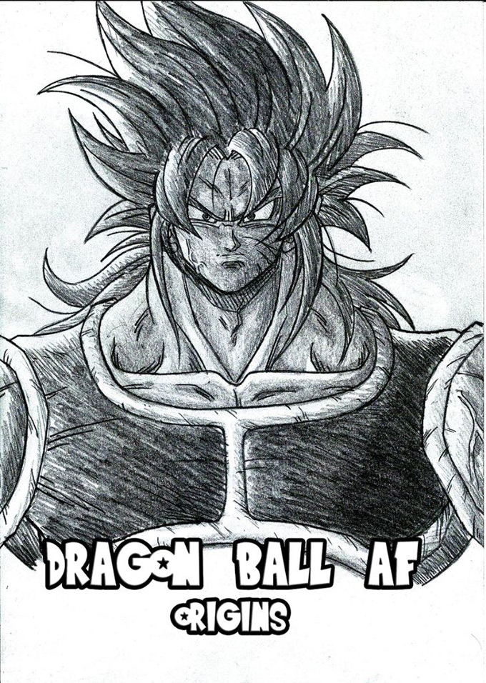 dragon ball af origins volume david montiel
