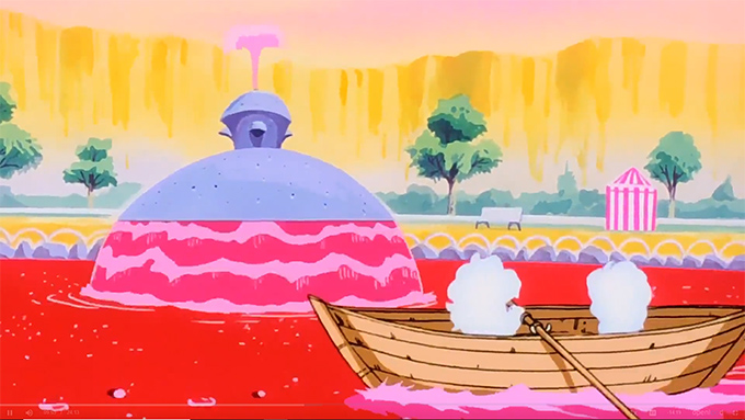 cloud-soul dragon ball z episode 13 row boat