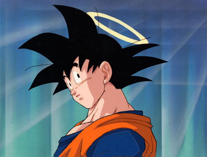 goku halo dragon ball z