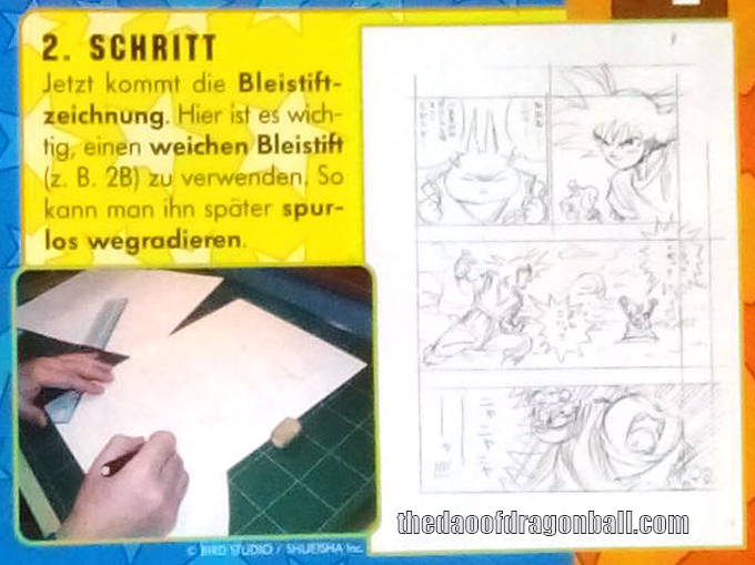 akira toriyama how to draw manga lesson leipzig germany step 2