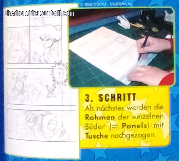 akira toriyama how to draw manga lesson leipzig germany step 3