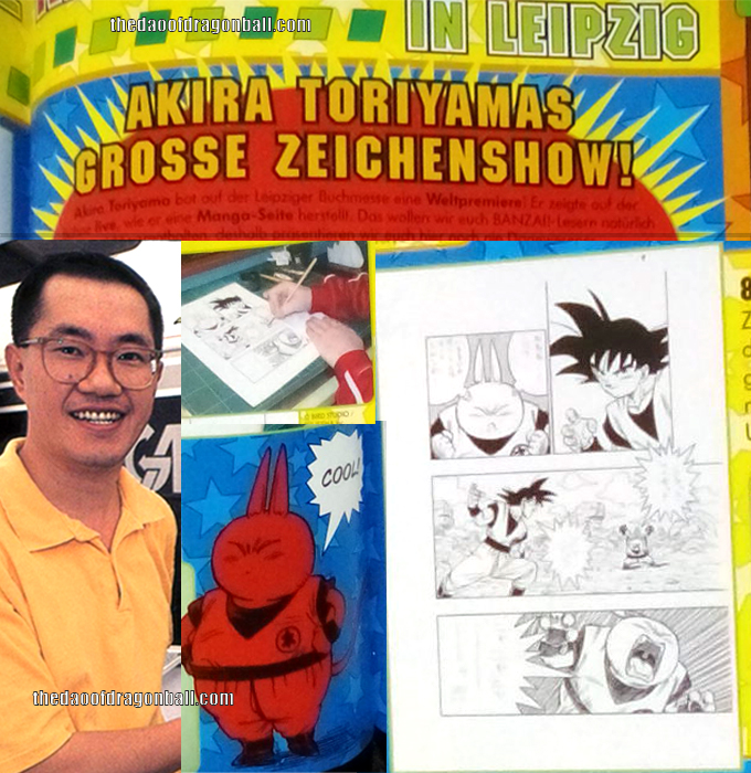 akira toriyama how to draw manga lesson leipzig germany