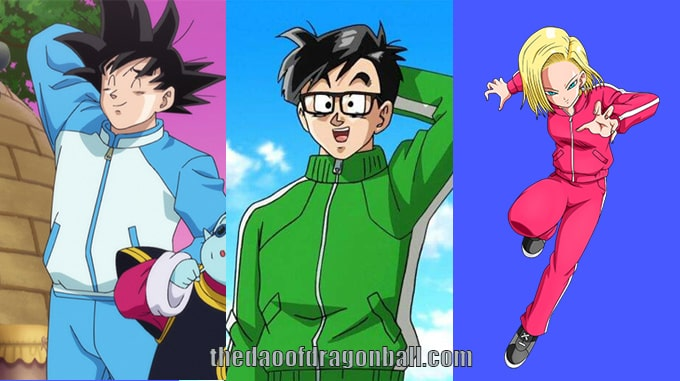 dragon ball tracksuits