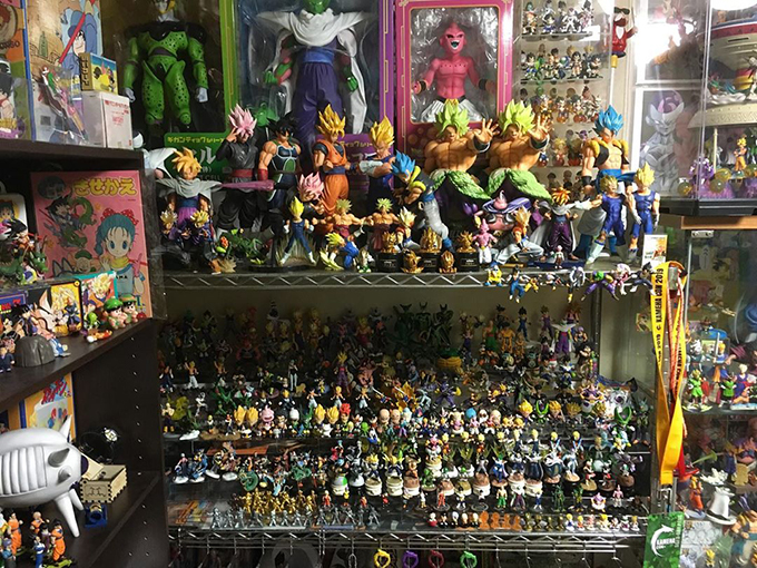 dragon ball collection hitoshi uchida various figures