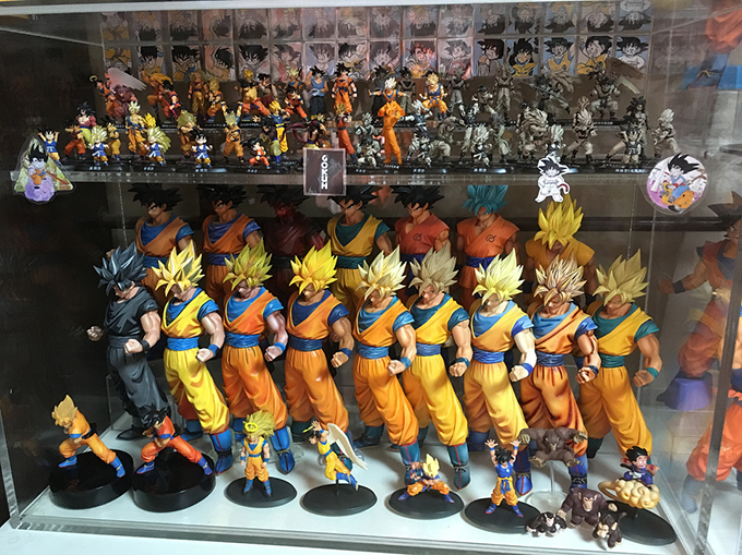 dragon ball collection goku statues guinness world record holder