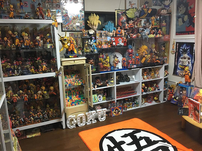 dragon ball collection hitoshi uchida goku room