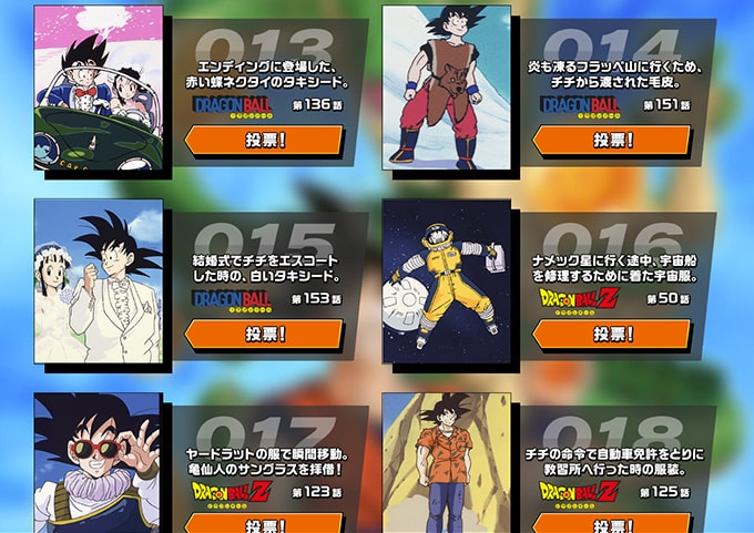 goku day costume contest 13 to 18