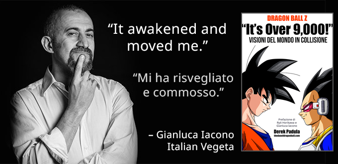gianluca iacono quote dragon ball z it's over 9,000! book