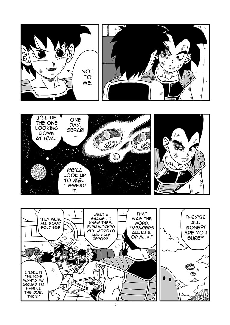 dragon ball new age history of rigor chapter 3 page 2