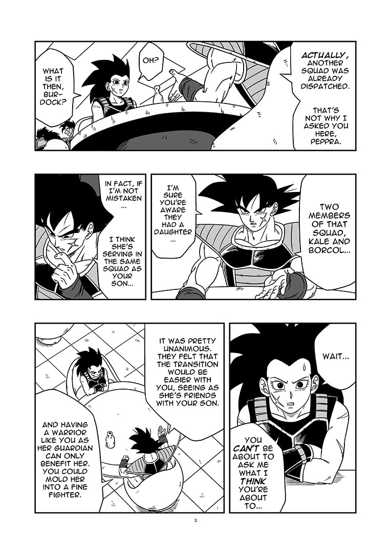 dragon ball new age history of rigor chapter 3 page 3