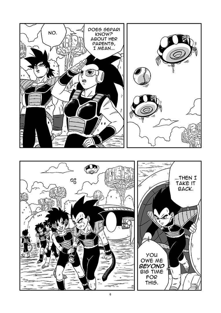 dragon ball new age history of rigor chapter 3 page 6