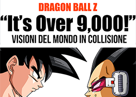 the dragon ball z it's over 9,000! book is now available in italian