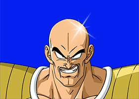 akira toriyama says nappa is not bald