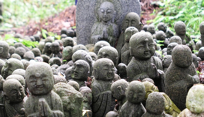 o-jizo-san buddhist deity in japan