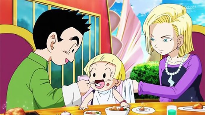 krillin marron daughter android 18 family